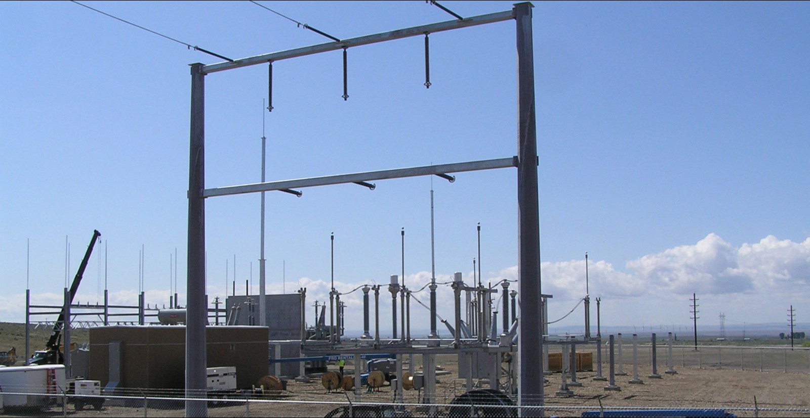 Electrical Substation Structures