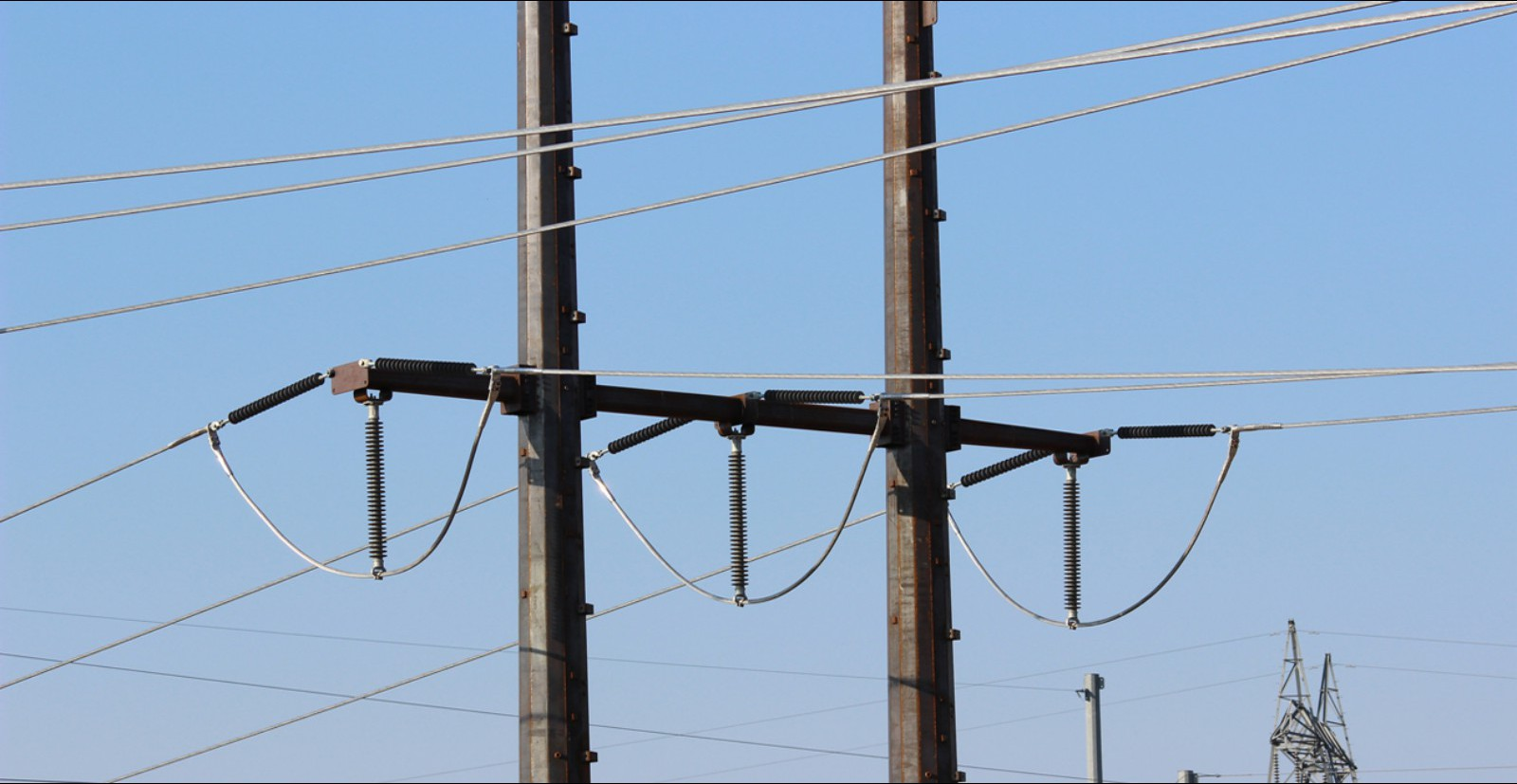 H Frame Transmission Power Pole : Western utility telecom inc