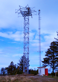 Radar Tower by Western Utility & telecom